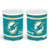Nfl 1 Gallon Tins Miami Dolphins