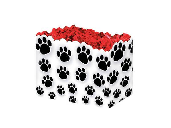 Small Gift Boxes Paw Prints