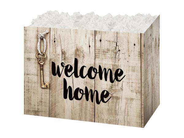 Large Gift Boxes Rustic Welcome
