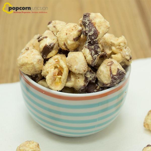 Small Bag (16 Cups Or 8 Servings) Peanut Butter Chocolate Popcorn
