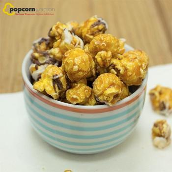 Small Bag (16 Cups Or 8 Servings) Double Drizzled Salted Caramel Popcorn