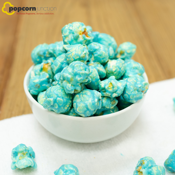 Small Bag (16 Cups Or 8 Servings) Sour Blue Raspberry Popcorn