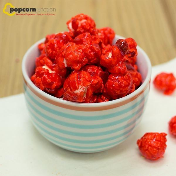 Small Bag (16 Cups Or 8 Servings) Strawberry Popcorn