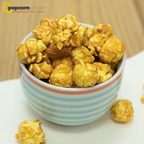Small Bag (16 Cups Or 8 Servings) Toffee Almond Popcorn