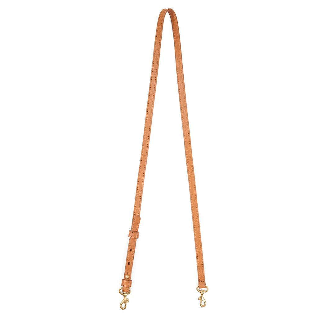 Adjustable Crossbody Strap- Cuoio