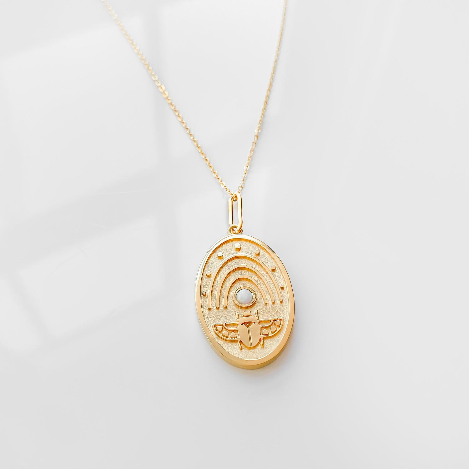 Khepri Charm Necklace
