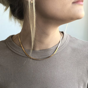 Dani Herringbone Necklace
