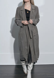 Cupro Duster Jacket