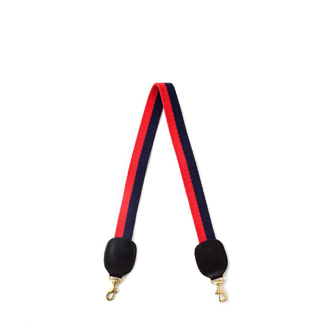 Shoulder Strap - Navy and Red Mini