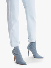 The Scrapper Cuff Ankle Fray- Baby Blue