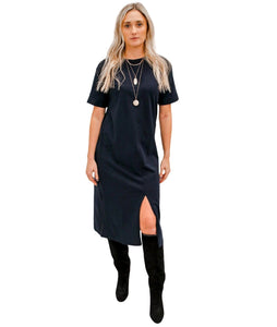 Suplima T-Shirt Dress with Tie