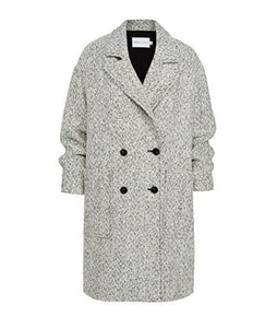 Jayden Coat - Black/White