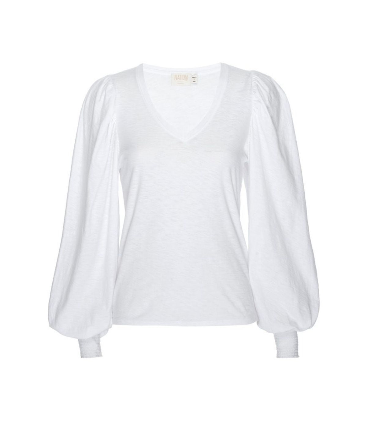 Tabitha Long Sleeve - White