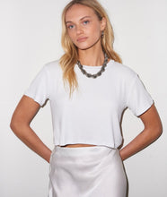 Billie Rib Tee- White