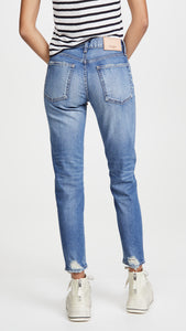 Comfort Velma Skinny- Light Blue