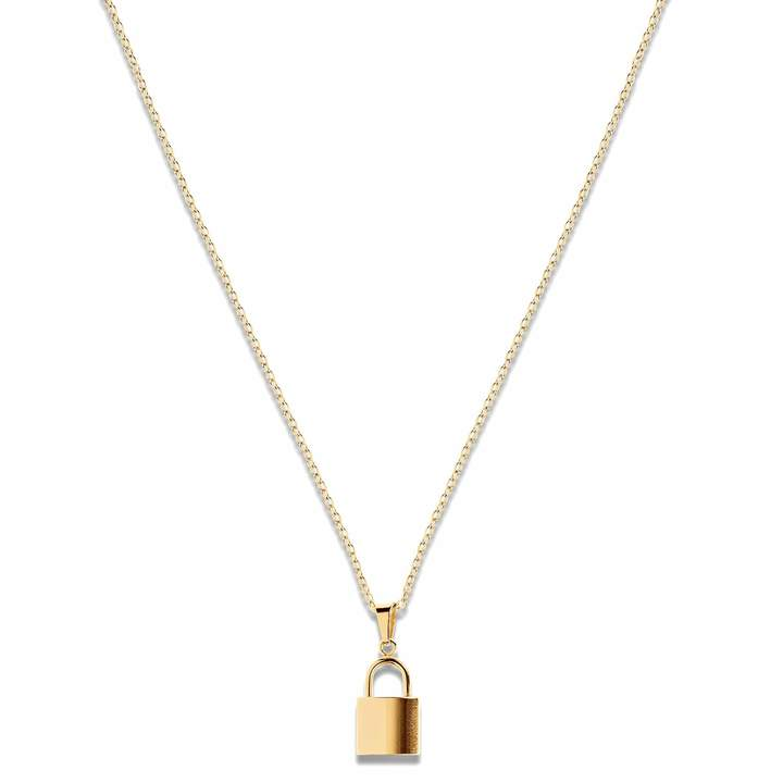 Uma Lock Necklace