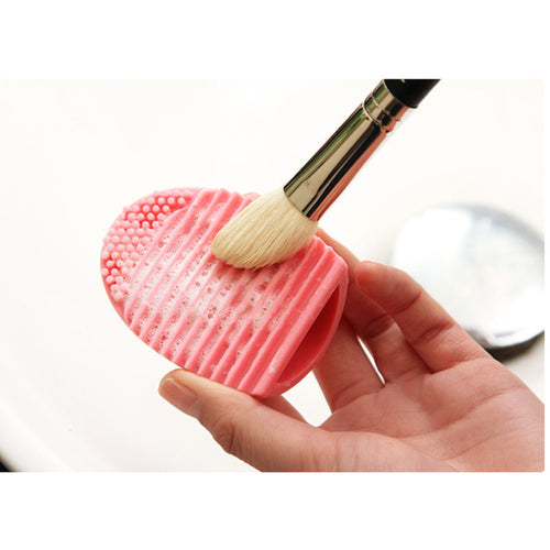 Brush Egg -Silicone Makeup Brush Cleaner