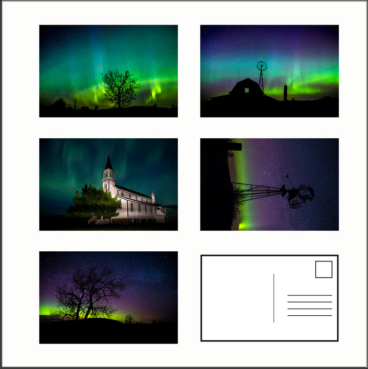Northern Lights Postcards