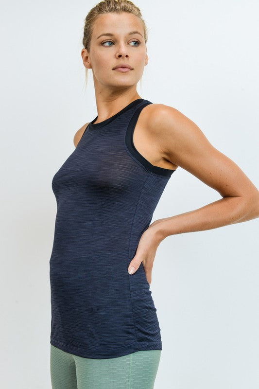 Ringer Active Racerback Tank Top (2 Colors)