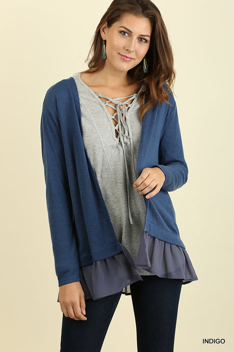 Cardigan Love: Indigo