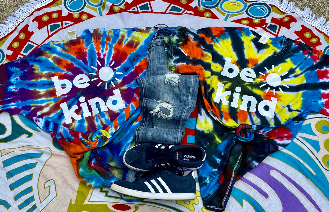 Be Kind on Tie Dye
