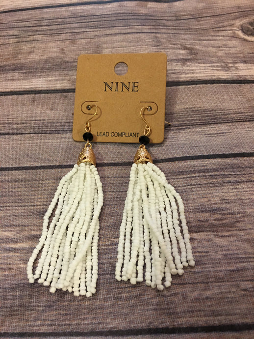 Tassel Earrings- Many colors
