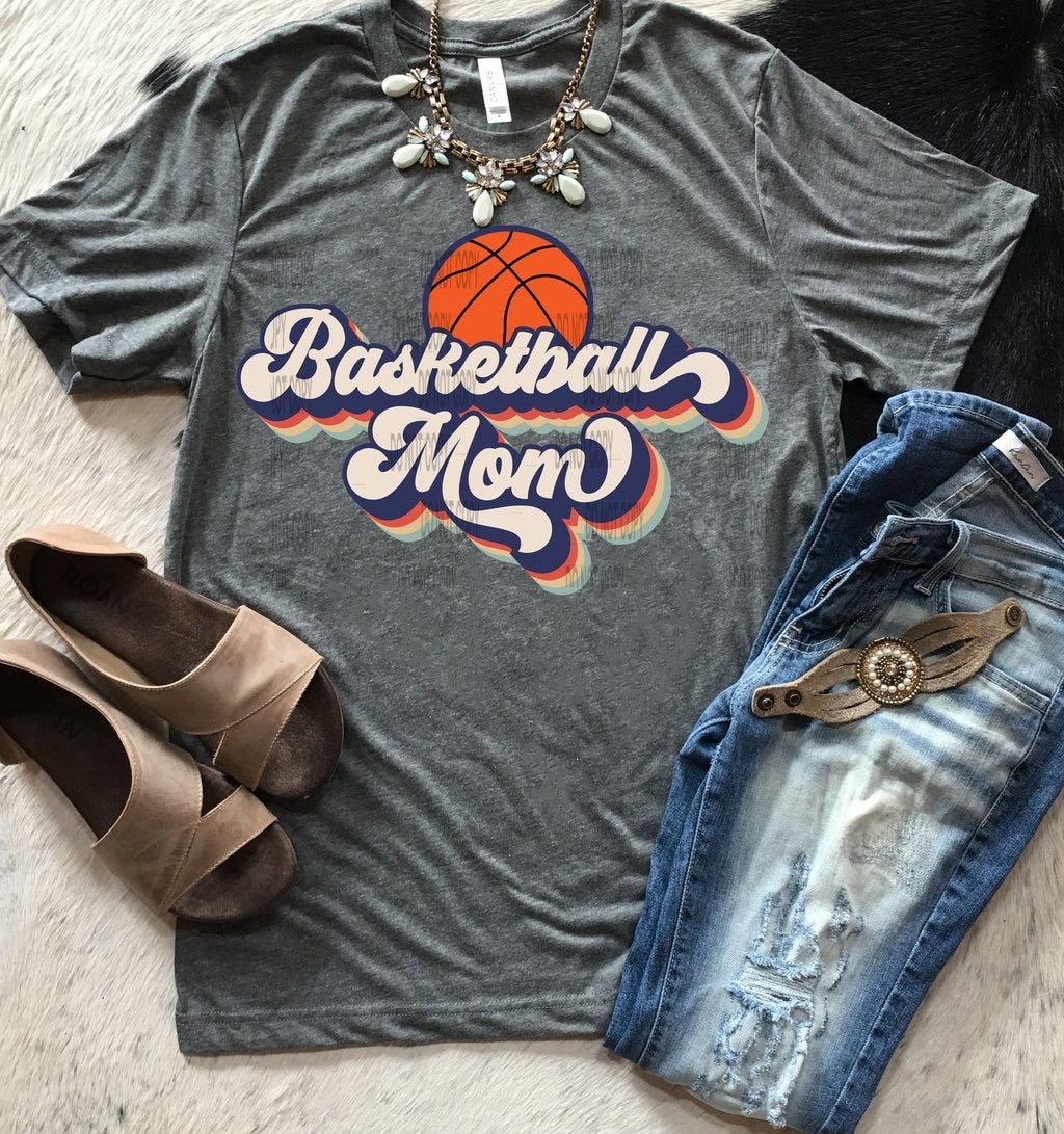 Basketball Mom Retro