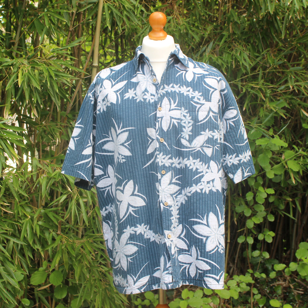 Vintage Tribord Hawaiian Print Short Sleeved Shirt