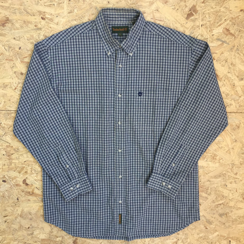 Vintage Long Sleeved Burberry's Shirt - L