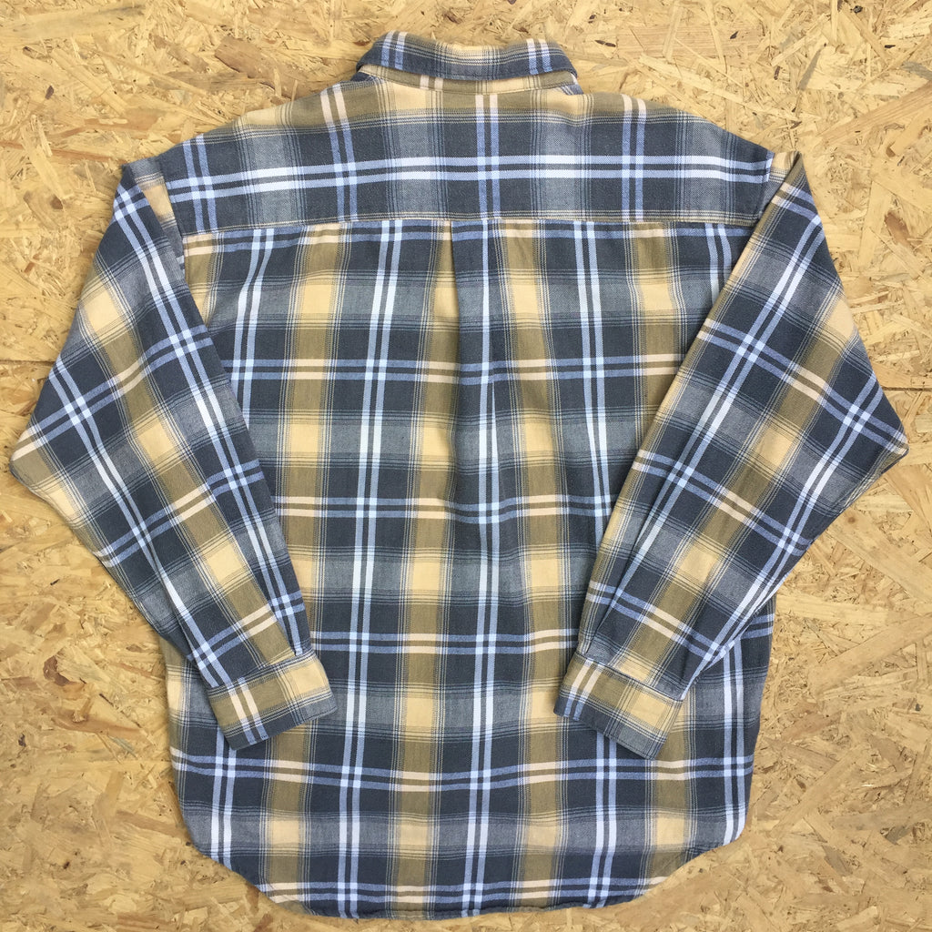 Vintage Long Sleeved Checked Shirt - M