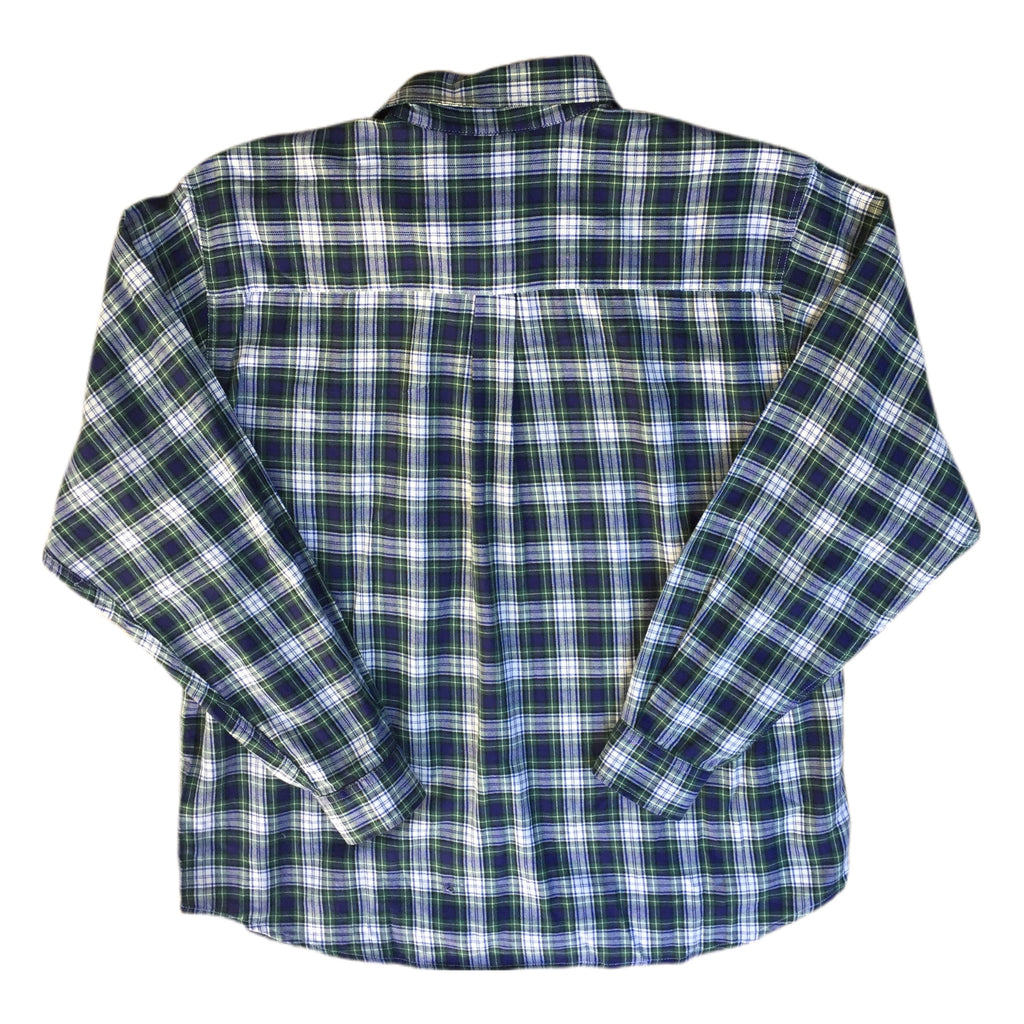 Long Sleeved Checked Shirt - S