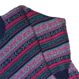 Le Laureat Crew Neck Patterned Sweatshirt - L