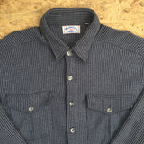 Vintage Long Sleeved Woven Shirt - M