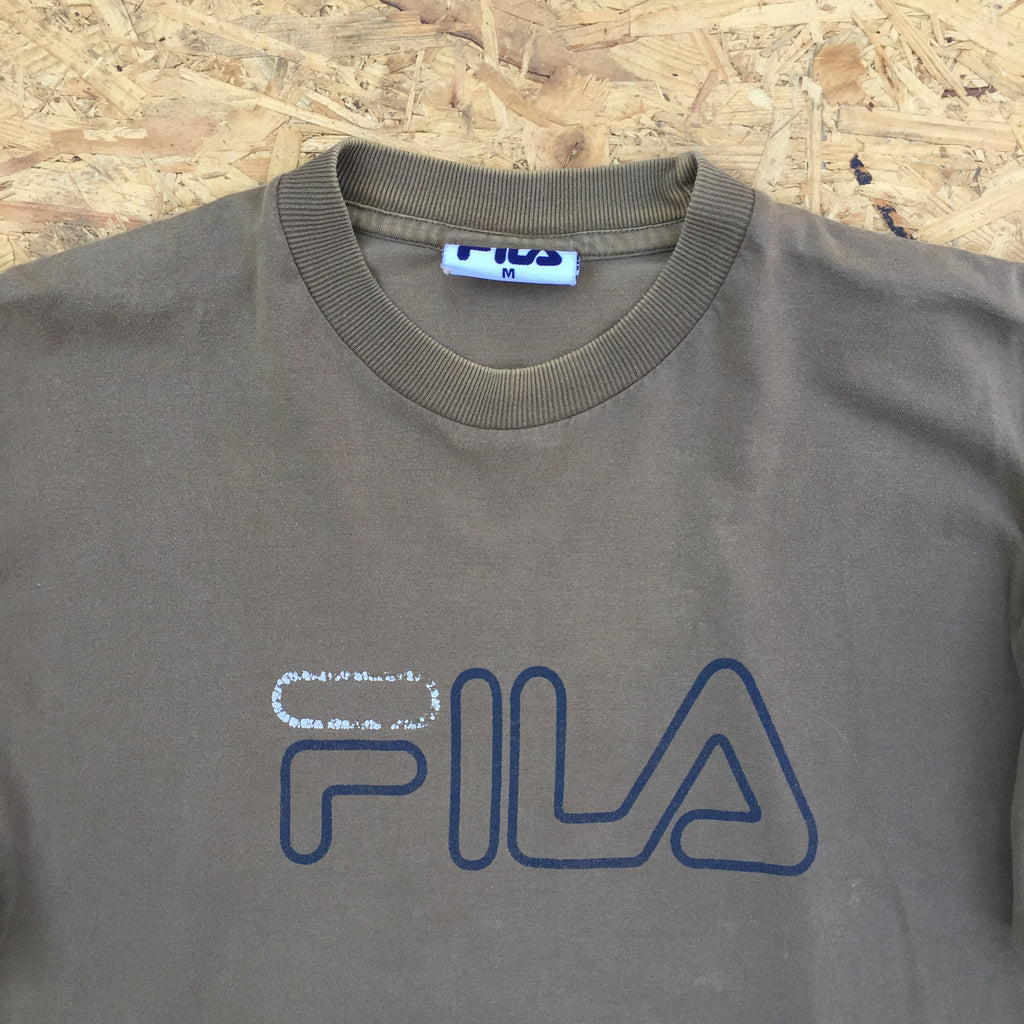 Retro Fila T-Shirt - M
