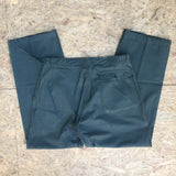 Military Style Wide Leg Trousers - W34