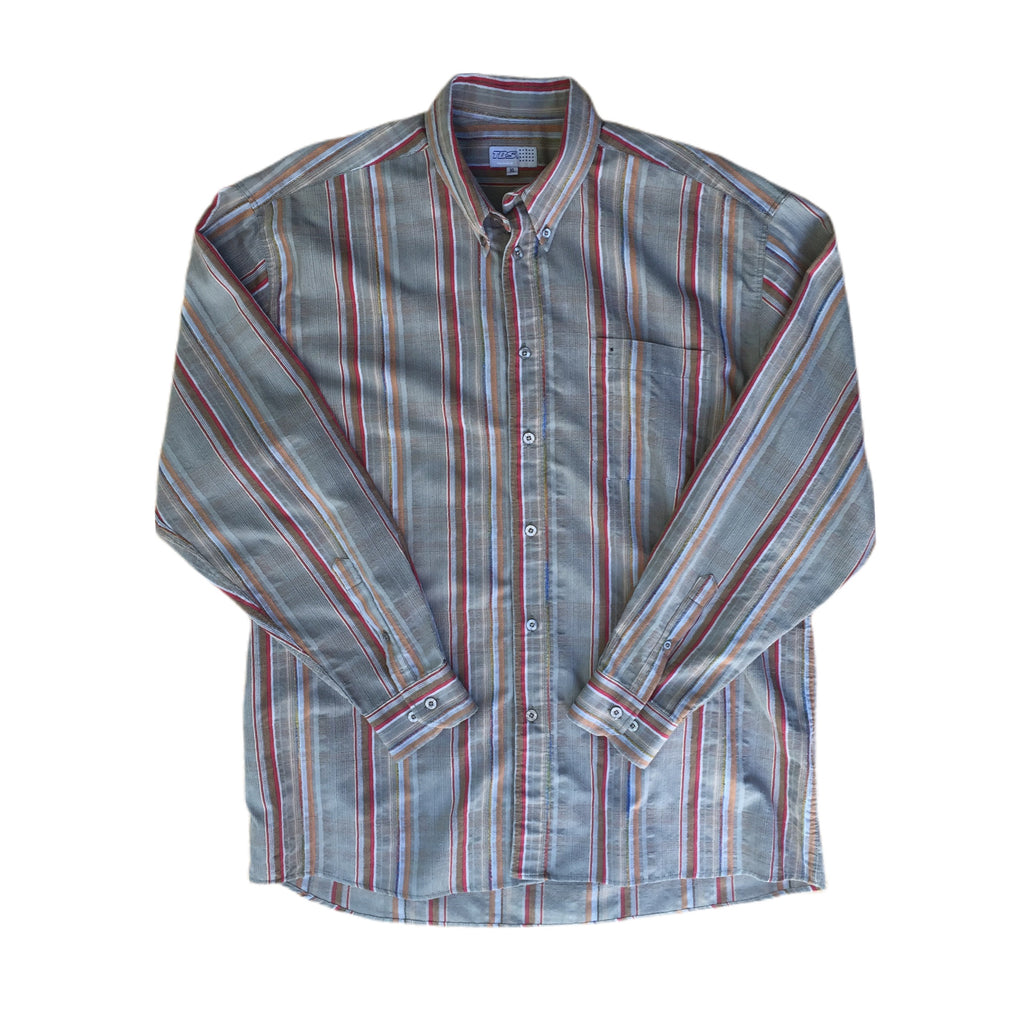 Lightweight Long Sleeved Woven Shirt - XL