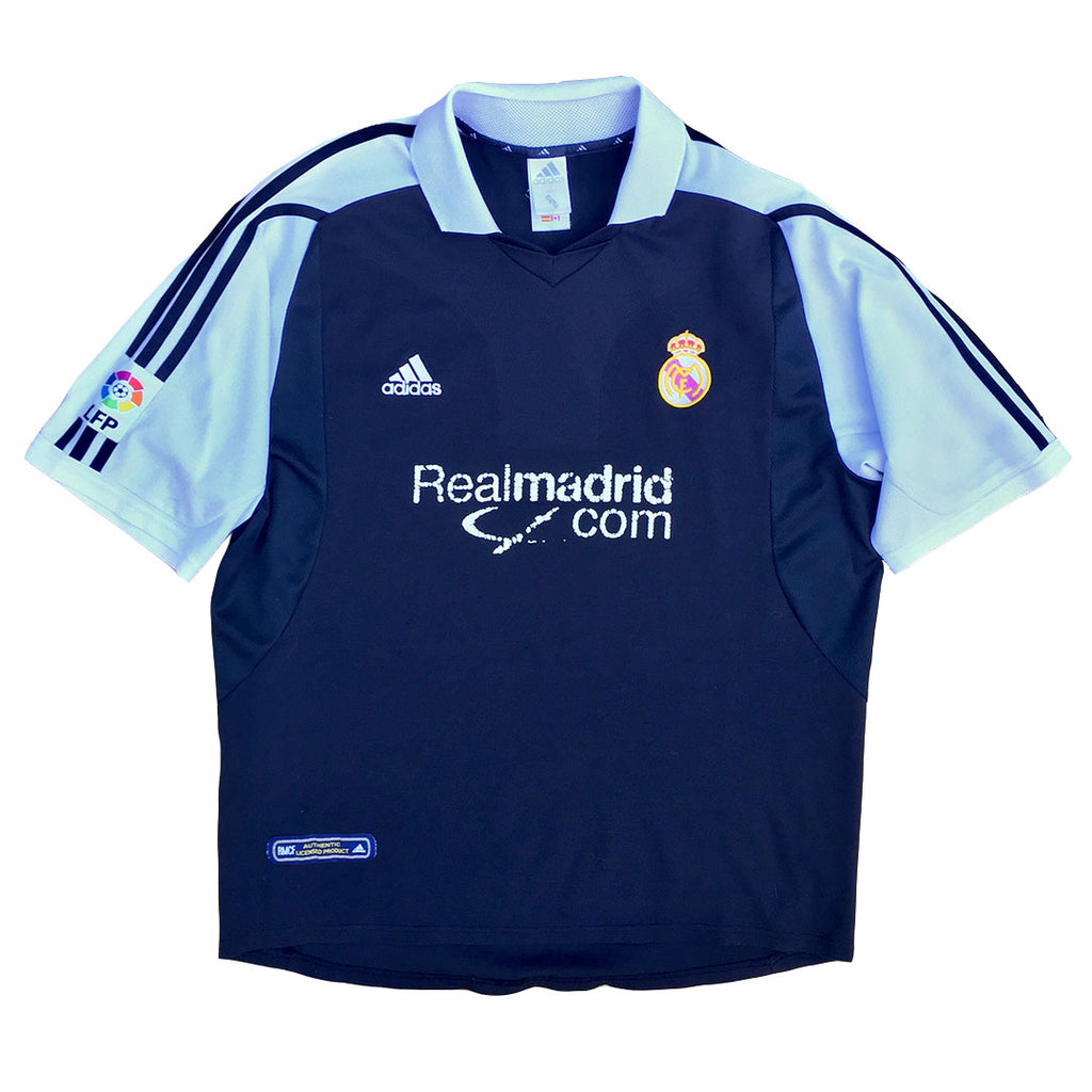 Retro Adidas Real Madrid Away Shirt 2001-02 - L
