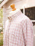 Vintage Long Sleeved Checked Shirt