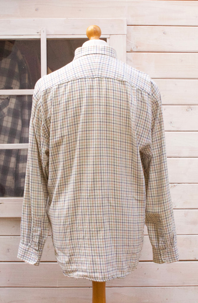 Vintage Long Sleeved Hoggs Of Fife Checked Shirt