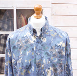 Vintage Abstract Design Long Sleeved Shirt