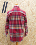 Vintage Checked Flannel Long Sleeved Shirt
