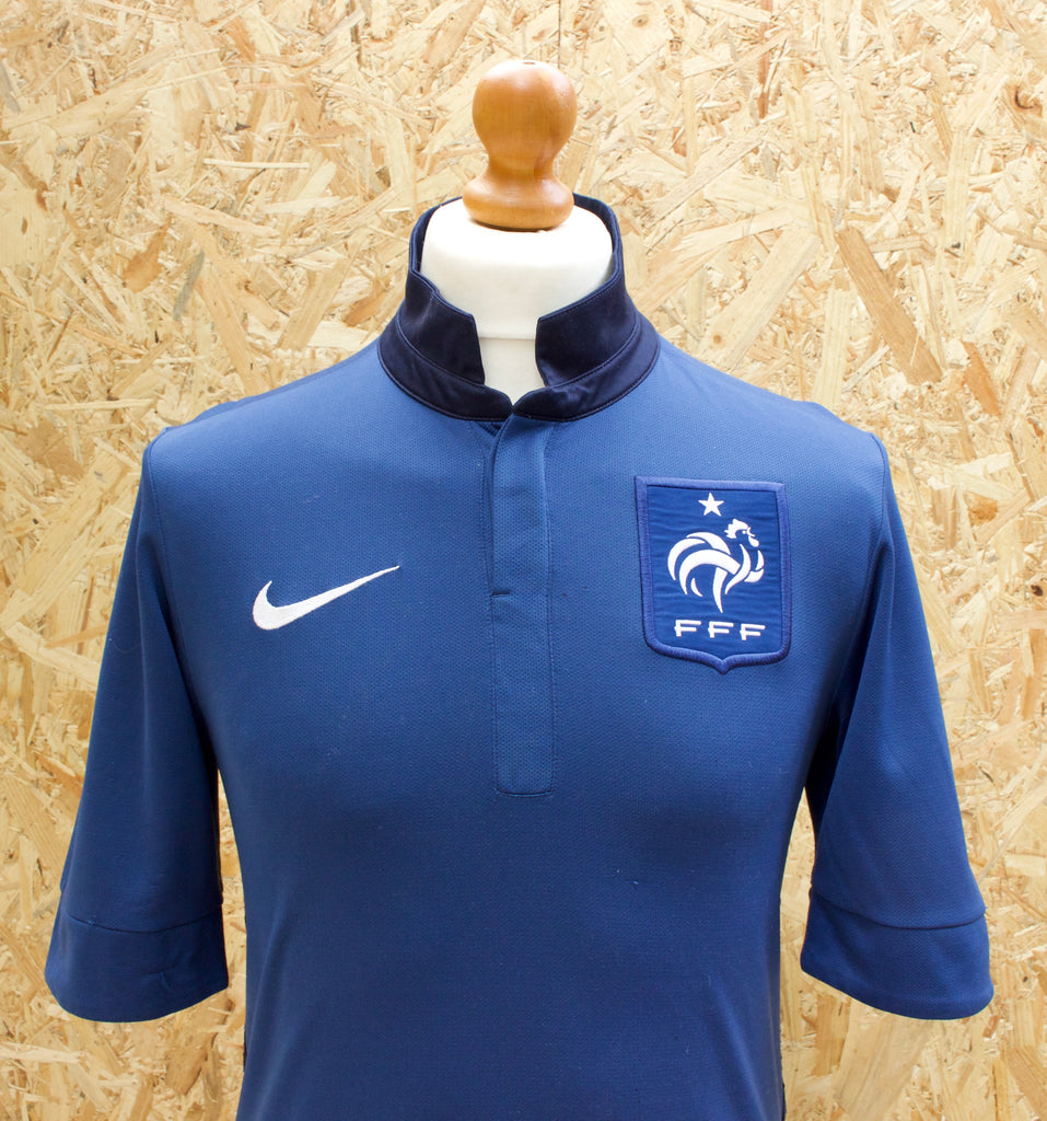 NIKE X FRANCE International Home Football Shirt 2013-14 - S