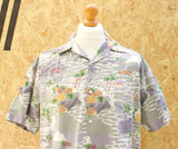 Vintage Hawaiian Print Short Sleeved Shirt - M