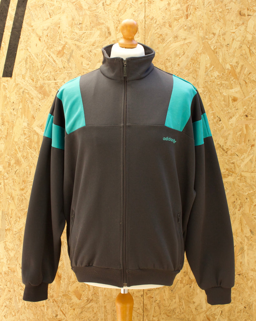 Retro Adidas Zip Up Jacket - XL