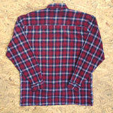 Vintage Checked Flannel Long Sleeved Shirt - L