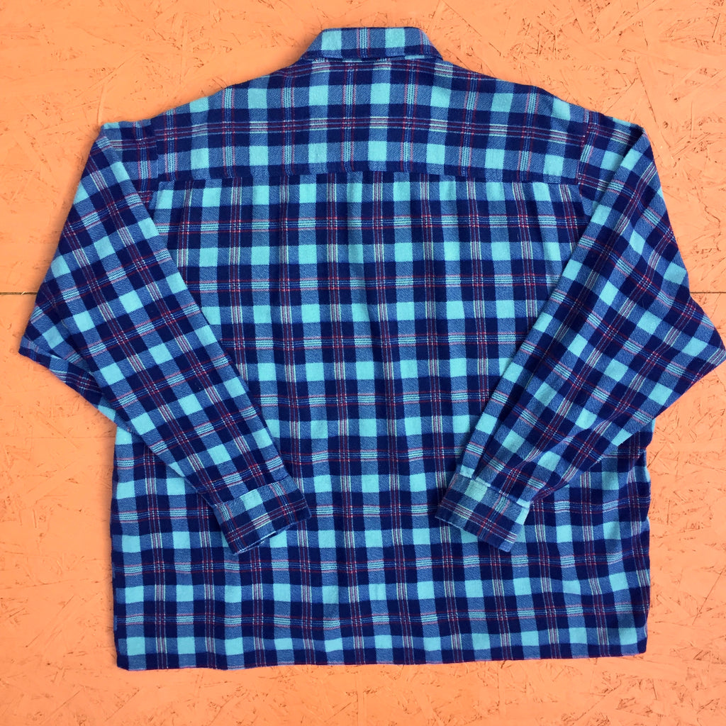 Vintage Long Sleeved Checked Shirt - XL