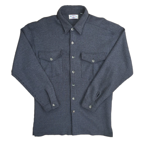 Vintage Long Sleeved Cord Shirt - XL