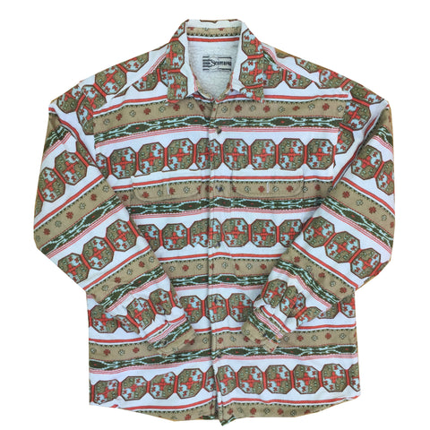 Vintage Happy Life Long Sleeved Shirt - M