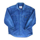 Teddy Smith Blue Cord Shirt - L
