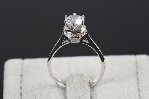 carat halo bridal silver rose sterling cut rings media gold flawless man simulants made wedding diamond plated ring pear engagement